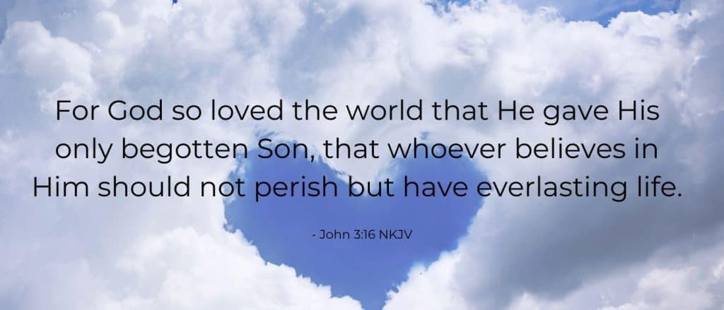 The Greatest Love Story of All Time- John 3:16