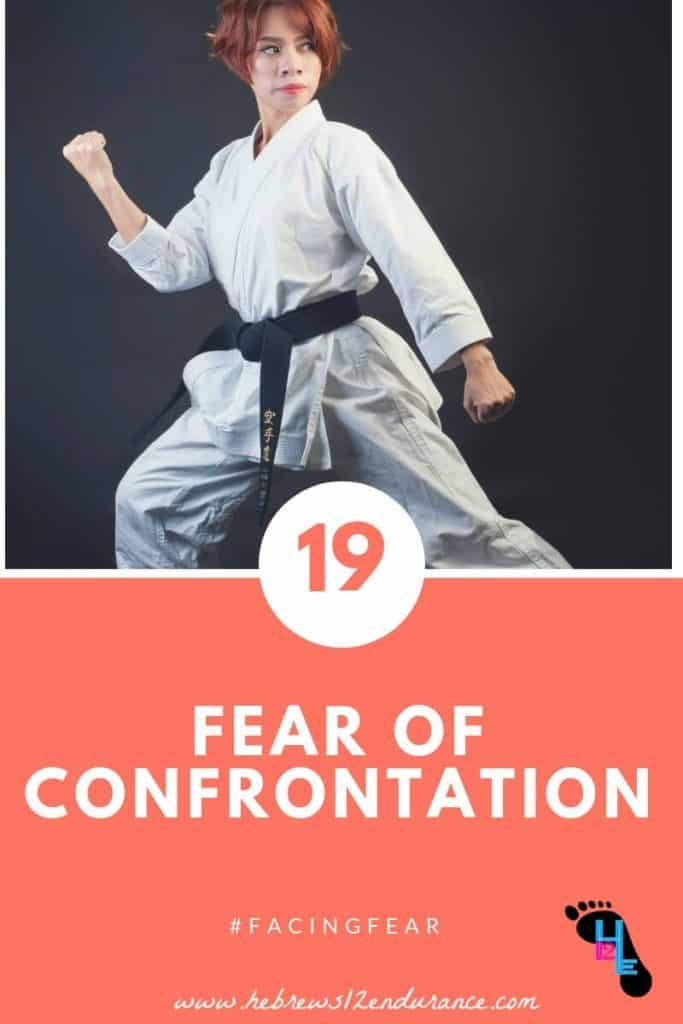 Fear of confrontation