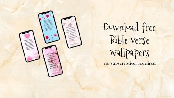 Bible verse wallpapers about love