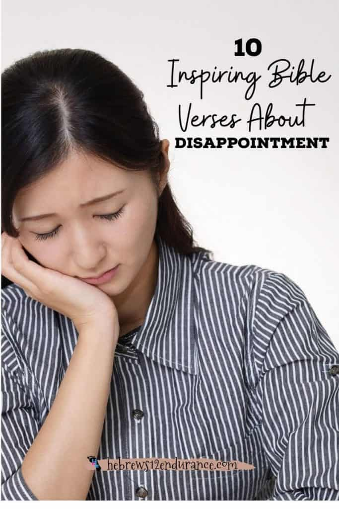 10 Bible verses about disappointment