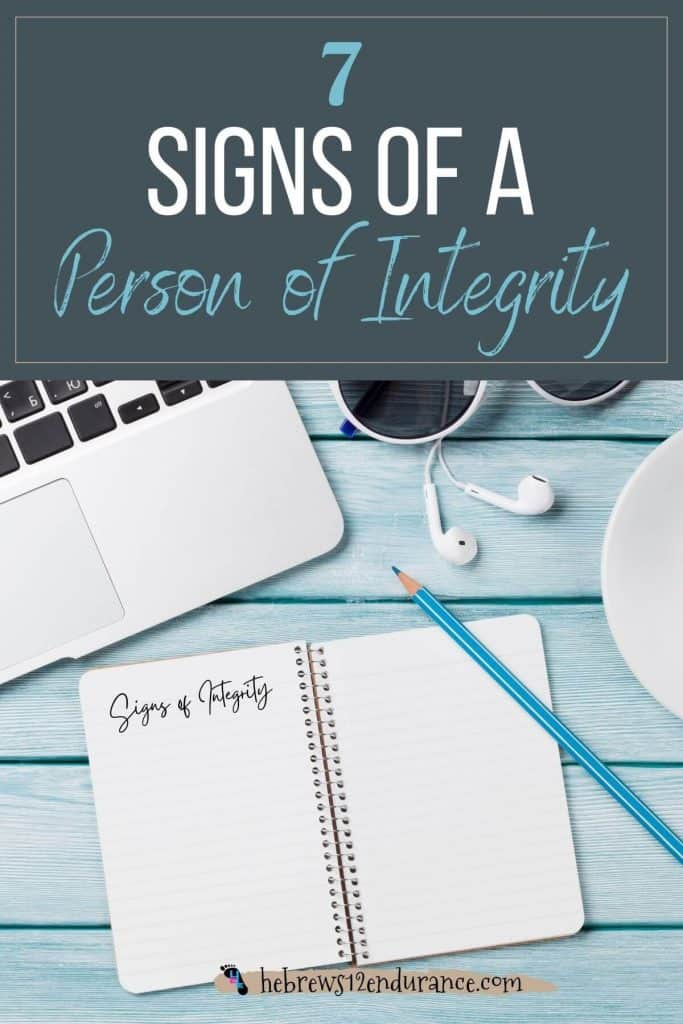 7 Signs of a Person of Integrity
