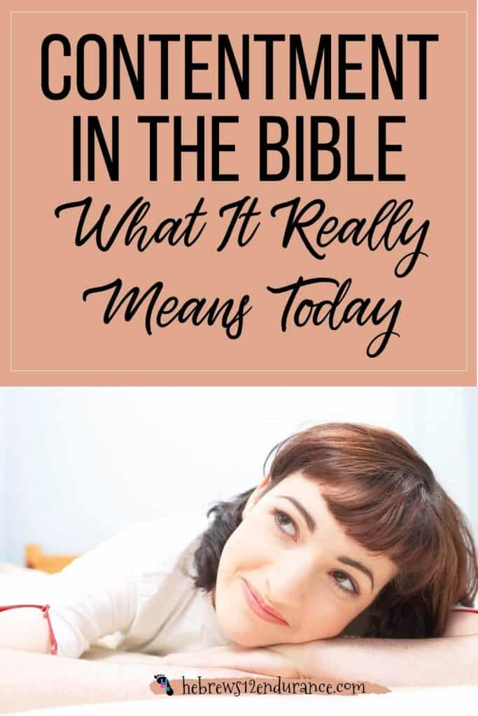 Contentment in the Bible: What It Really Means Today