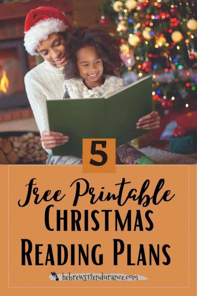 5 Free Printable Christmas Bible Reading Plans